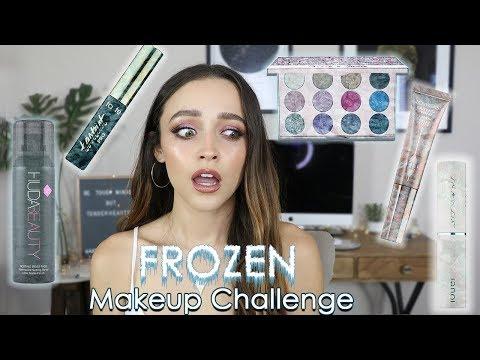 I FROZE MY MAKEUP!!!! | Full Face of Frozen Makeup....... omg - UC8v4vz_n2rys6Yxpj8LuOBA