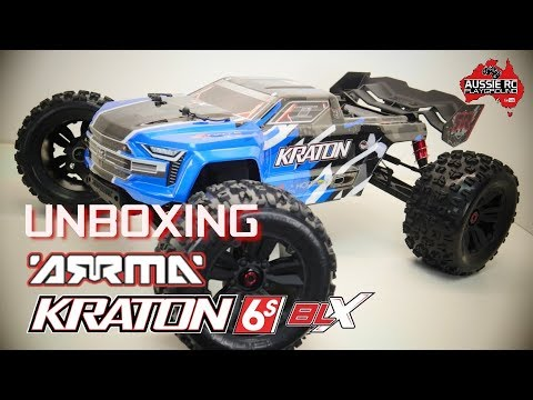 Unboxing ARRMA Kraton 6S BLX V4 2019 Edition - UCOfR0NE5V7IHhMABstt11kA