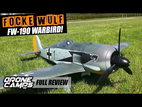 Focke Wulf FW-190 Warbird - MAIDEN, CRASH, FLIGHTS & REVIEW! - UCwojJxGQ0SNeVV09mKlnonA