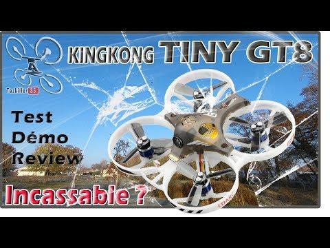 KINGKONG/LDARC  Tiny GT8 - Racer FPV - Review Test Démo / INCASSABLE ??? - UCPhX12xQUY1dp3d8tiGGinA