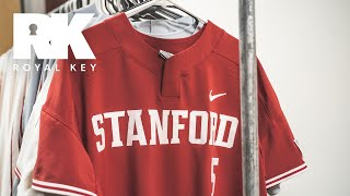 We Toured STANFORD Baseball's AWESOME Equipment Facility | Royal Key