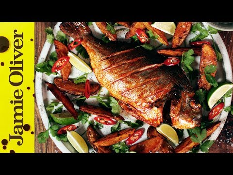 Spicy Fish & Chips | Shelina Permalloo