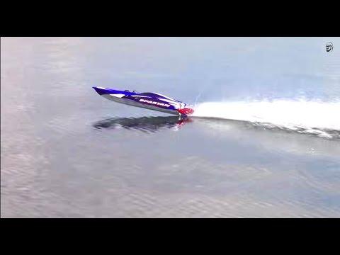 RC ADVENTURES - Traxxas Spartan Extreme Speed Boating - UCxcjVHL-2o3D6Q9esu05a1Q