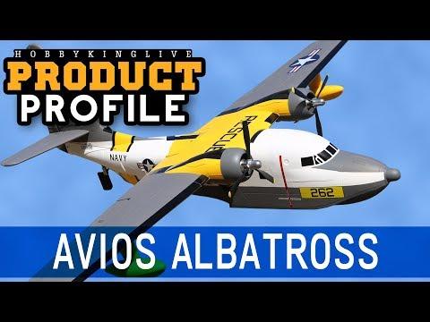 """Avios Albatross Flying Boat 1620mm (63.7"""") PNF - HobbyKing Product Profile - UCkNMDHVq-_6aJEh2uRBbRmw"""