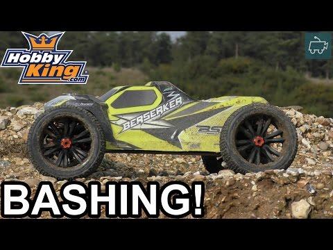 HobbyKing BSR Berserker 1/8 RC Truggy - Tyre SHREDDING Power!  - UCDmaPHBzr724MEhnOFUAqsA