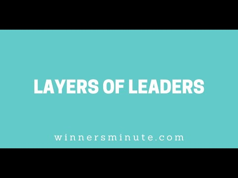 Layers of Leaders // The Winner's Minute With Mac Hammond