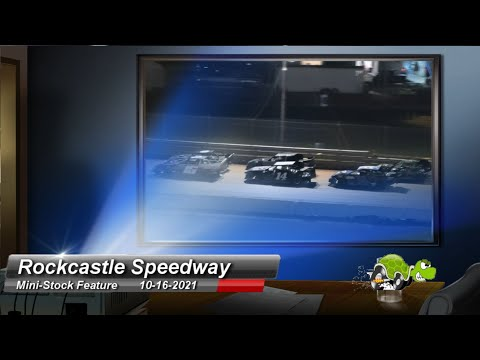 Rockcastle Speedway - Mini-Stock Feature - 10/16/2021 - dirt track racing video image