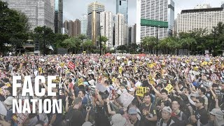 Mass protests in Hong Kong continue for 11th week