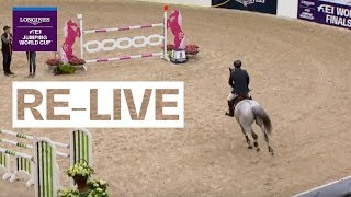 LIVE 🔴 | Longines FEI Jumping World Cup™ FINAL | Warm Up | Gothenburg (SWE)