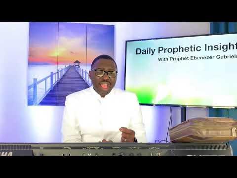 September 3 Prophetic Insight