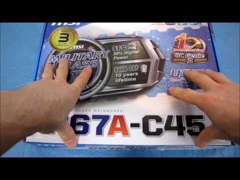 MSI P67A-C45 LGA1155 Motherboard Unboxing & First Look Linus Tech Tips - UCXuqSBlHAE6Xw-yeJA0Tunw