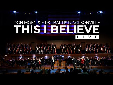 Don Moen - This I Believe (Live)