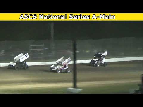 2021 Fred Brownfield Classic, Night 1, ASCS National Series A-Main - dirt track racing video image