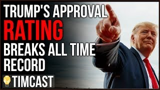 Trump's Approval Breaks ALL TIME High With Record High African American Support