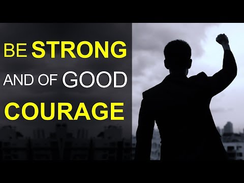 BE STRONG AND OF GOOD COURAGE - BIBLE PREACHING  PASTOR SEAN PINDER