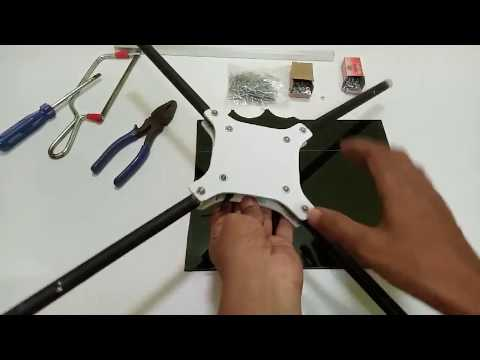 How to make quadcopter frame, Explain in Hindi - UCgDZYEwY4l4B0EHZNkqmW5w
