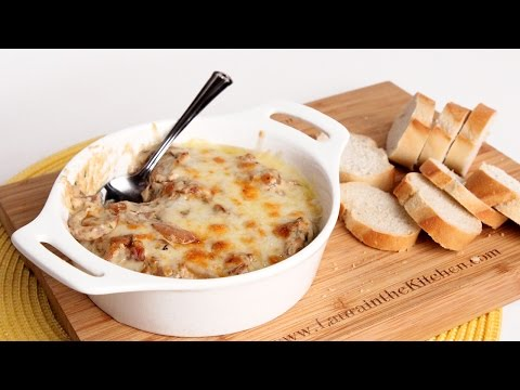 Caramelized Onion Dip Recipe - Laura Vitale - Laura in the Kitchen Episode 931
