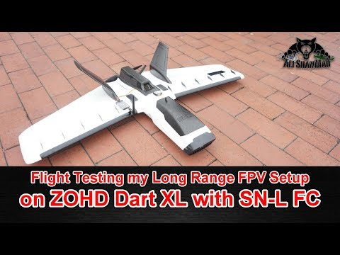 SN Light Flight Controller Long Range FPV Setup ZOHD Dart XL Flying Wing - UCsFctXdFnbeoKpLefdEloEQ