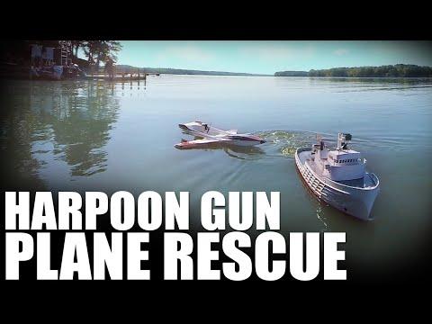 Flite Test | Harpoon Gun Plane Rescue - UC9zTuyWffK9ckEz1216noAw