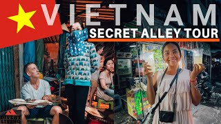 DEEP Alley In Saigon - Our FIRST HIDDEN Secret Street Food (Ho Chi Minh, Vietnam) 🇻🇳