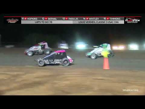 USAC CRA Sprint Highlights   Silver Dollar Speedway   Louie Vermeil Classic Night #2   9/5/2021 - dirt track racing video image