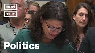 Rashida Tlaib Begs Congress Not to Look Away From Detention Camps | NowThis