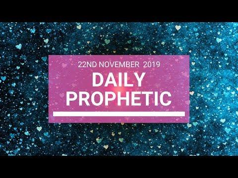 Daily Prophetic 22 November Word 5