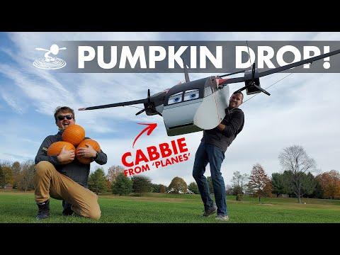 Dropping Pumpkins from a GIANT RC Plane  - UC9zTuyWffK9ckEz1216noAw