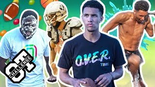 Jalen Suggs BODIES A Football AND Basketball Overtime Challenge! Best Athlete In The Country? 🔥