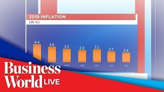 Inflation further eases to 2.4% in July