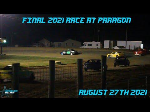 Final 2021 Race Paragon Speedway   Hornet Racing - dirt track racing video image