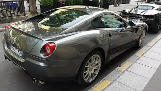 2008 ferrari 599 GTB fiorano 620 ch in PAris France