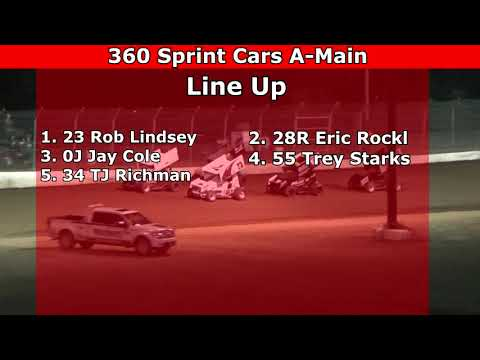 Grays Harbor Raceway, August 28, 2021, 360 Sprint Cars A-Main - dirt track racing video image