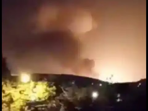 Breaking Massive Explosion In Iran Reports at Military Base