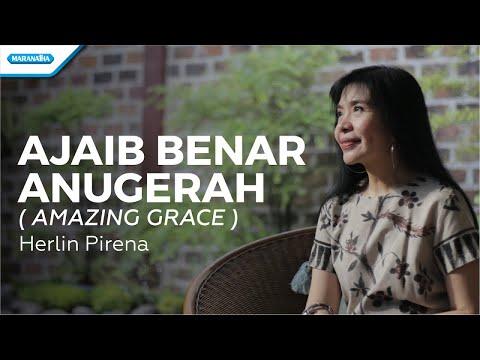 Ajaib Benar Anugerah (Amazing Grace) - Herlin Pirena (vertical video lyric)