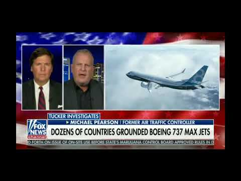 Trump grounds all Boing 737 'Max Jets' - Tucker Carlson 3/13/19