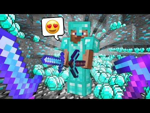 How to get UNLIMITED Diamonds!! (Minecraft) - UC2wKfjlioOCLP4xQMOWNcgg