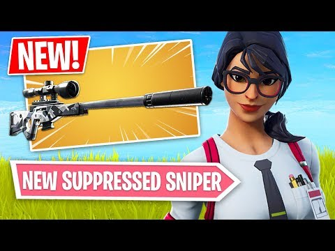 Fortnite *NEW* Suppressed Sniper Rifle Gameplay!! (Fortnite Battle Royale) - UC2wKfjlioOCLP4xQMOWNcgg
