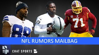 Dez Bryant Future, Trent Williams Trade, Redskins Starting QB & Antonio Brown | NFL Rumors Mailbag
