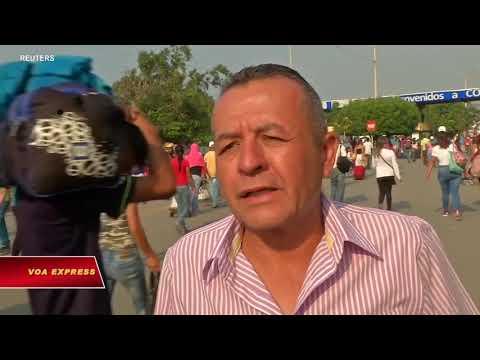 Hàng viện trợ sắp đến Venezuela (VOA)