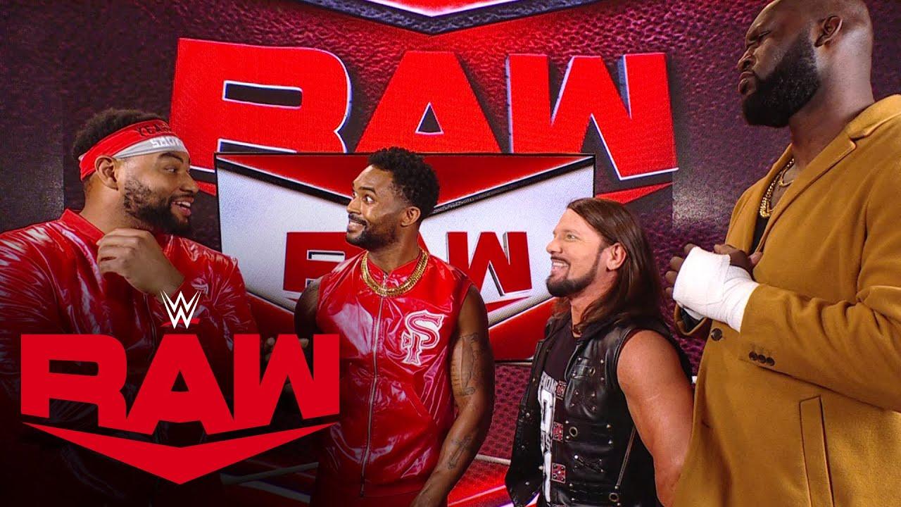 AJ Styles & Omos make The Street Profits an offer: Raw, Oct. 18, 2021