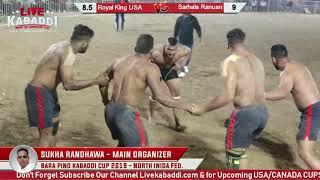 Final Sarhala Ranuan VS Royal King USA| BARA PIND KABADDI CUP 2019
