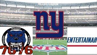 Talkin Giants! New York Giants Live Show- Recap of Jets vs Giants Golden Tate will serve suspension