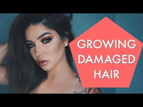 Growing out a pixie & How I fixed my EXTREMELY DAMAGED HAIR ❤ - UCcZ2nCUn7vSlMfY5PoH982Q