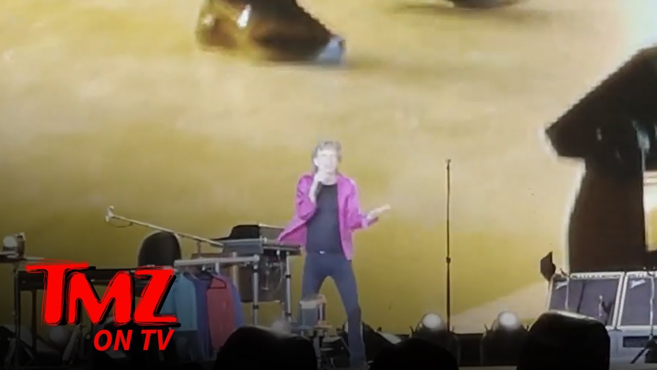 Mick Jagger Jabs Back at Paul McCartney Over 'Blues Cover Band' Remark | TMZ TV