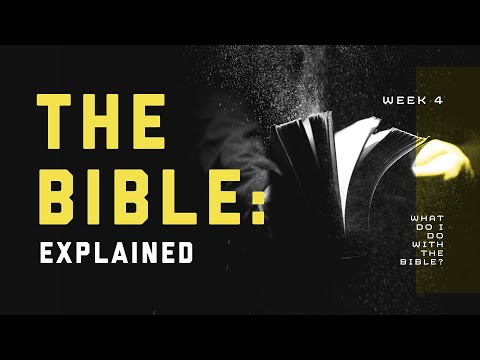 What Do I Do With the Bible?
