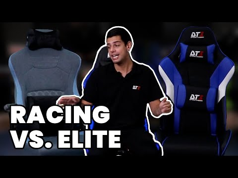 COMPARATIVO DE CADEIRAS GAMER: RACING SERIES X ELITE SERIES
