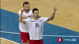 FIFA Futsal World Cup / Lithuania 2020 - Preliminary Round / Group D - Georgia 5x1 Germany