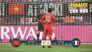 VIET NAM vs FRANCE - PENALTY SHOOTOUT - PES19