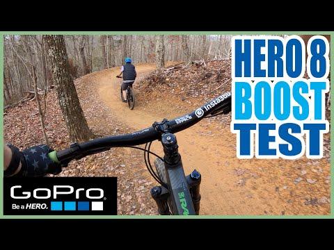 MTB Test w/ GoPro Hero 8 at White Oak Mountain // BOOST mode on CHEST